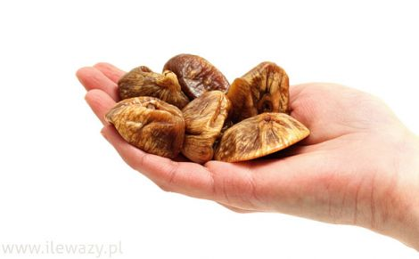 Garść suszonych fig