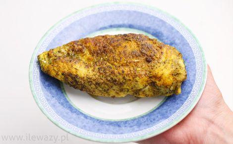 Filet z kurczaka bez panierki smażony