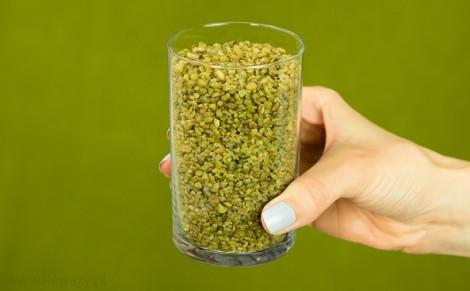 Kasza z prażonego zielonego ziarna pszenicy Freekeh
