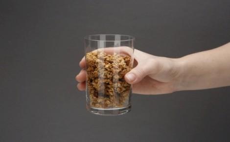 Granola białkowa z płatkami owsianymi, greckim miodem i nasionami lnu