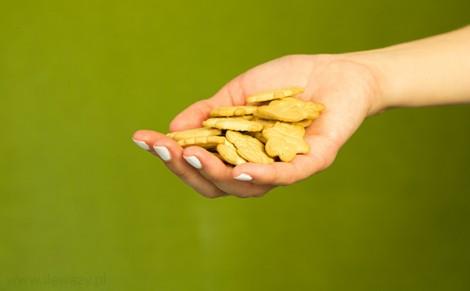 Herbatniki z dodatkiem masła Robaczki
