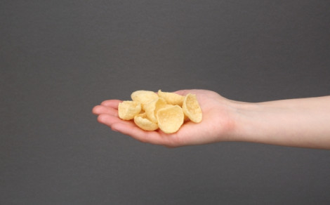 Hummus chipsy, chipsy z ciecierzycy