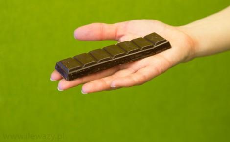 Baton nadziewany w czekoladzie deserowej Jacek