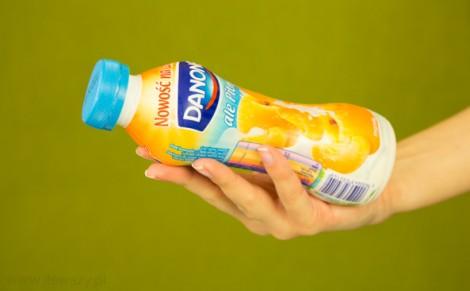 Napój jogurtowy o smaku morelowym
