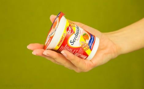 Jogurt truskawkowy Serduszko