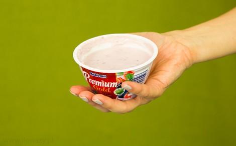 Jogurt z owocami leśnymi Premium Gold