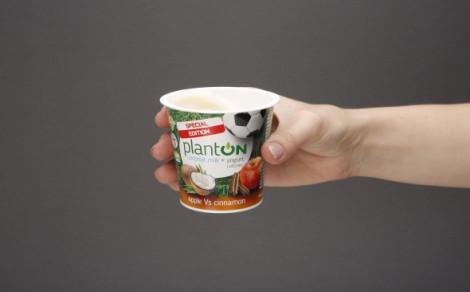 Jogurt kokosowy jabłko-cynamon PlantON
