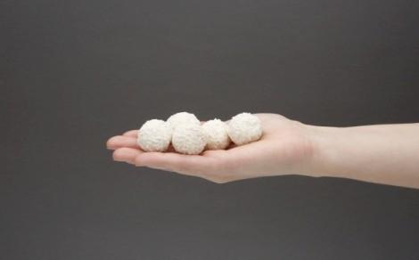 Kulki proteinowe, kokosowe