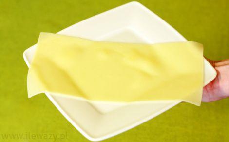 Makaron lasagne ugotowany