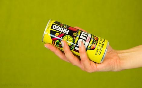 Lemoniada Frugo żółta cytryna