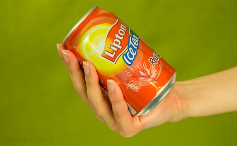 Napój Lipton Ice Tea Red Tea