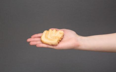 Listki, ciasteczka francuskie