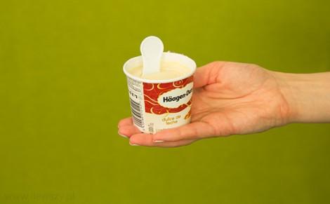 Lody Haagen-Dazs dulce de leche