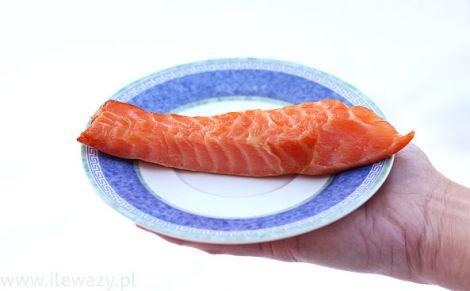 Brzuszki wędzone z łososia