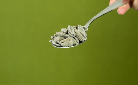 Makaron gryczany gnocchi