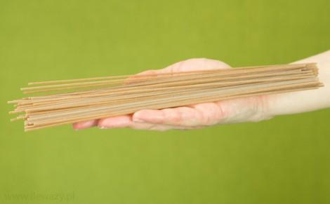 Makaron spaghetti z pszenicy płaskurka