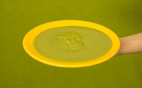 Zupa krem z groszku z miętą Marwit