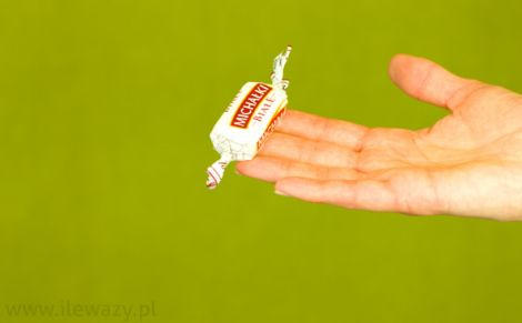 Cukierki białe michałki