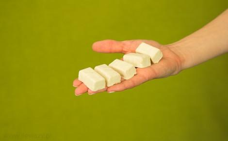 Michałki z Hanki Milk w białej polewie