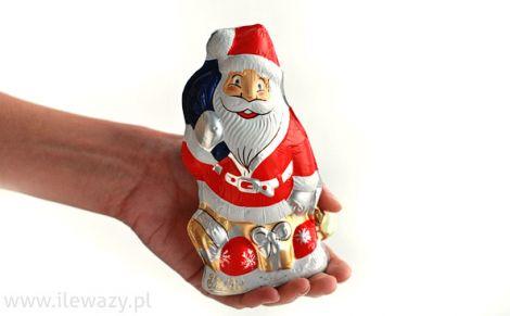 Mikołaj z mlecznej czekolady