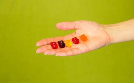 Żelki z sokami owocowymi Miśki