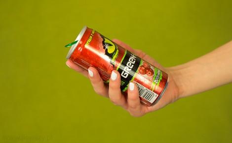 Napój energetyzujący Green Up Żurawina