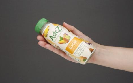 Napój migdałowy z sokami owocowymi