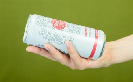 Napój z białej herbaty o smaku arbuza bez cukru