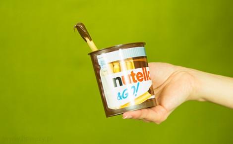 Paluszki z kremem Nutella & Go!