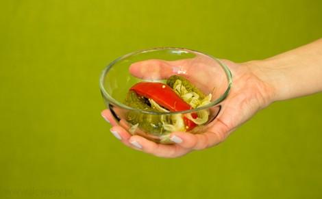 Ogórki konserwowe kaszubskie