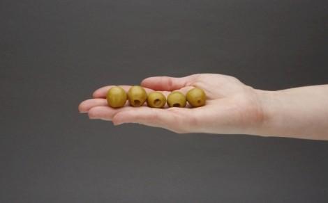 Oliwki zielone nadziewane cytryną