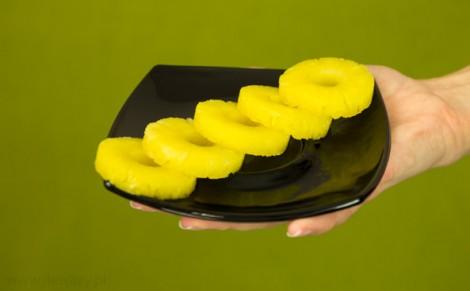Ananas Baby w lekkim syropie