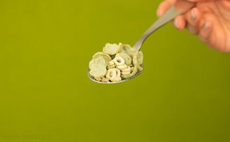 Wielozbożowe płatki z algami Top fit