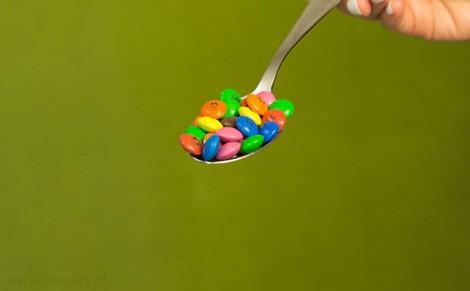 Czekodraże w otoczce cukrowej Puchatek
