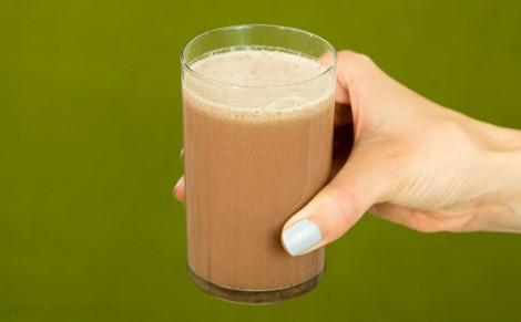 Koktajl mleczny z malinami Quicker Dzienna Racja; zestaw 1
