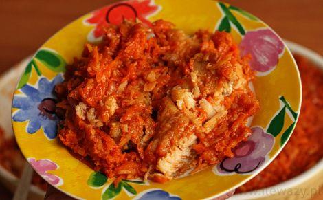 Porcja ryby po grecku