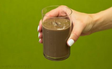 Budyń z płatkami czekolady o smaku trufli z czekoladą