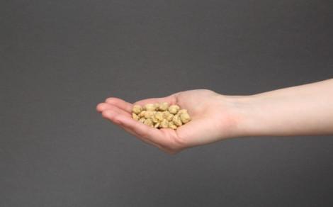 Ciecierzyca suszona o smaku serka śmietankowego ze szczypiorkiem