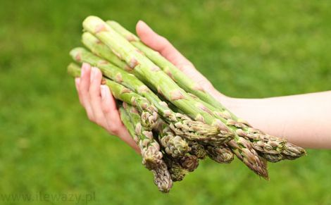 Szparagi zielone