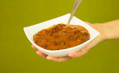 Teksańska czerwona fasola w sosie cayenne