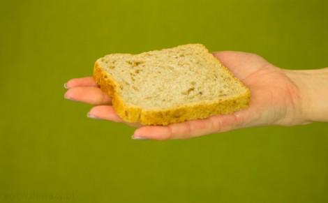 Chleb tostowy z mąką pełnoziarnistą