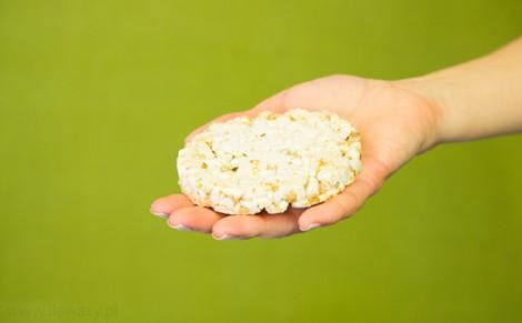 Wafle ryżowe z błonnikiem Cynk