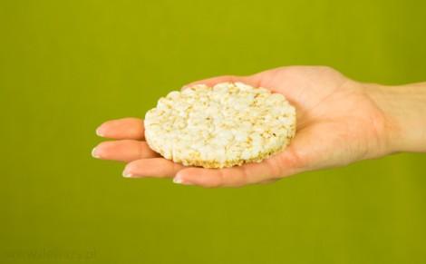 Wafle ryżowe z amarantusem