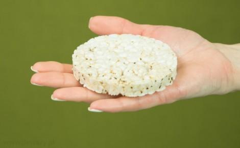 Wafle ryżowe z nasionami chia