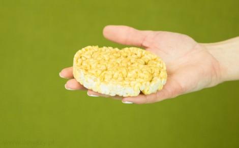 Wafle ryżowo kukurydziane o smaku karmelowym
