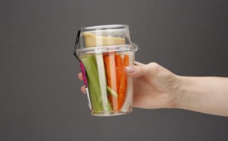 Warzywa i hummus