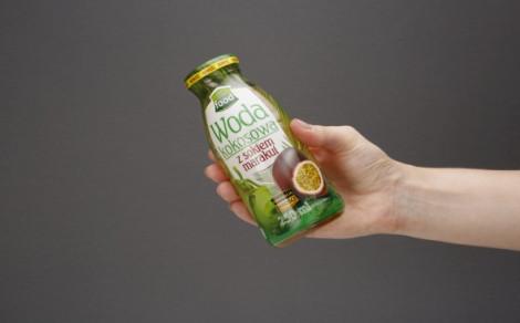 Woda kokosowa z sokiem z marakui