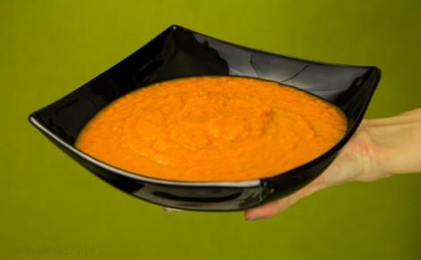 Zupa krem z marchewki z kolendrą Marwit