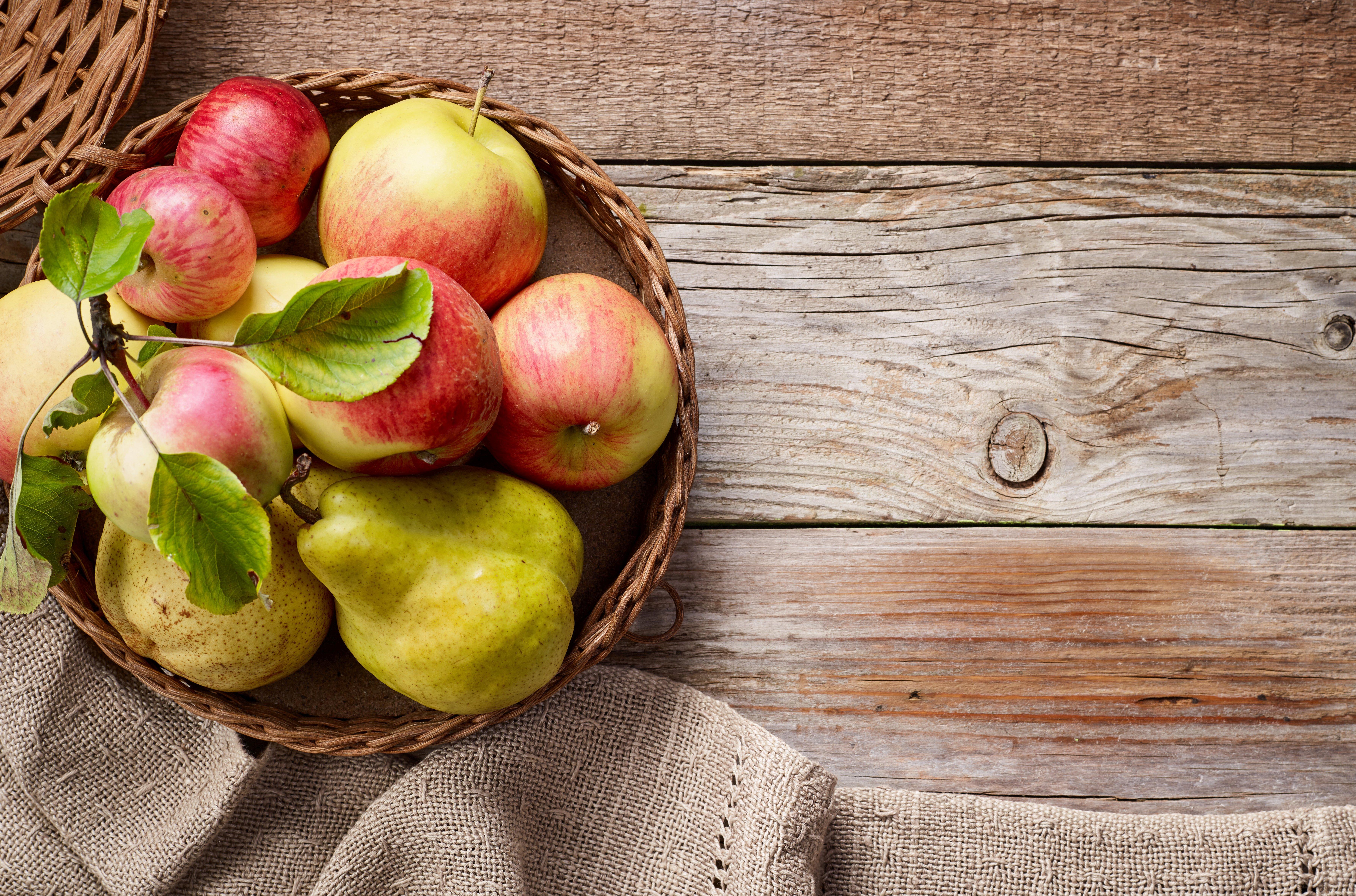 Jabłka i gruszki