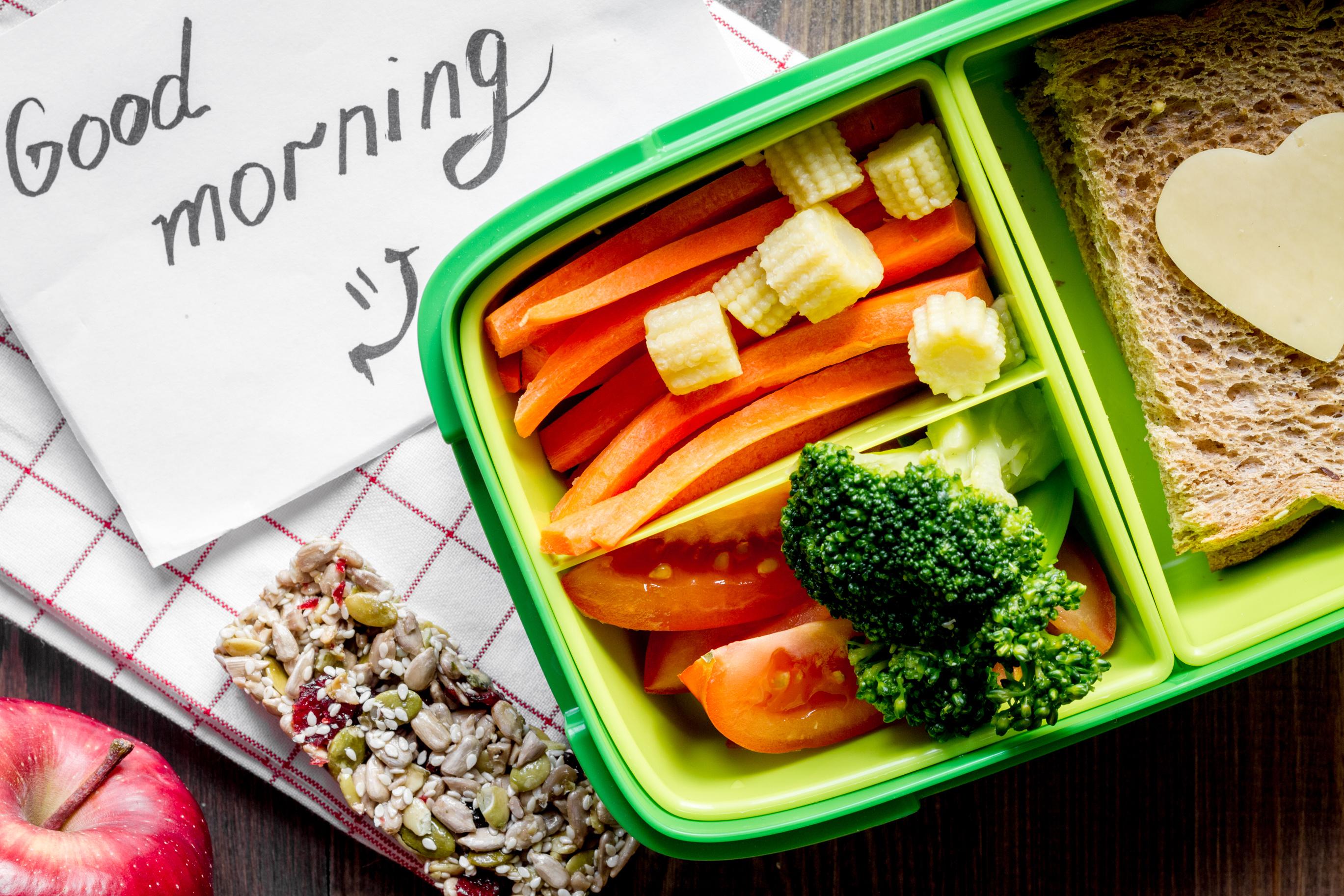 Drugie śniadanie w lunchboxie